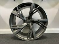 "20"" NEW RS6 Style Alloys and Tyres. Suit Audi A4, A5 & A6 (5x112)"