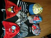 8 pairs of size 4-6 and 4-8 boys hats