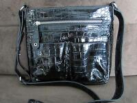 ~~Merona~~ Patent Leather Black Bag - BRAND NEW!