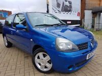 Renault Clio 1.2 Campus Sport I-Music 3dr,LOW MILEAGE only 35476, 3 MONTHS WARRANTY
