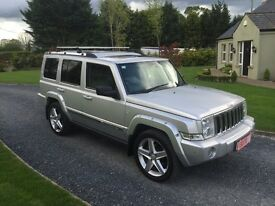 Jeep commander 3.0 crd 7 seater 4x4