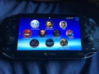 PS Vita in great condition + 16GB MemCard + Cable + Case