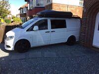Mercedes Vito LWB Campervan cw Body Kit and ML Low Profile Wheels, Stunning White
