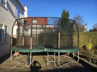 Well loved 10' x 15' jumpPOD oval jumpking trampoline