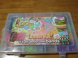 MIX COLOURFUL RUBBER LOOM BANDS BRACELET MAKING KIT SET W S-CLIPS BOX