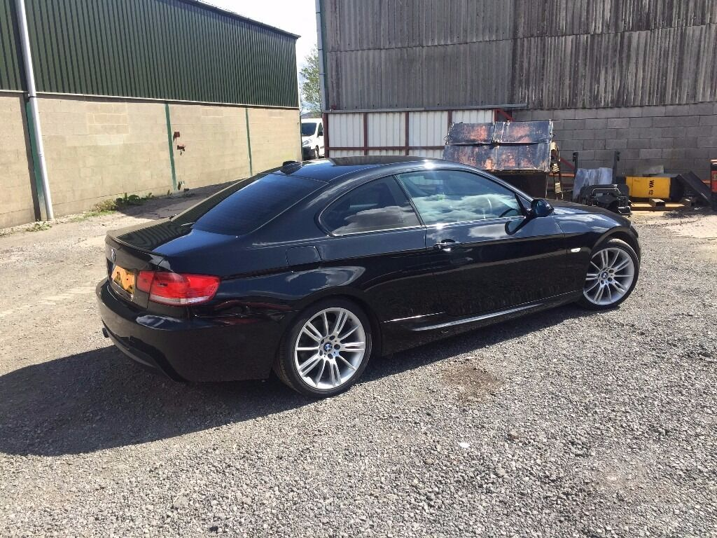 black bmw e92 320d msport coupe manual in skelmersdale lancashire gumtree. Black Bedroom Furniture Sets. Home Design Ideas