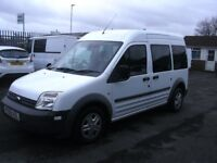 Transit connect 5 seat tourneo window van .air conditioning. full service history,