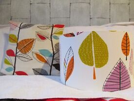 Lampshade and one cushion cover