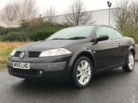 RENAULT MEGANE CONVERTABLE 2006 (06 REG)*£1499*LOW MILES*SERVICE HISTORY*PX WELCOME*DELIVERY