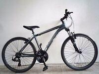 "(1710) 26"" 17"" LIGHTWEIGHT 6061 Aluminium RIDGEBACK ADULT MOUNTAIN BIKE BICYCLE Height: 163-180 cm"