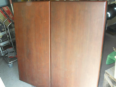 Conference Room Cabinet With Projector Screen - Rare