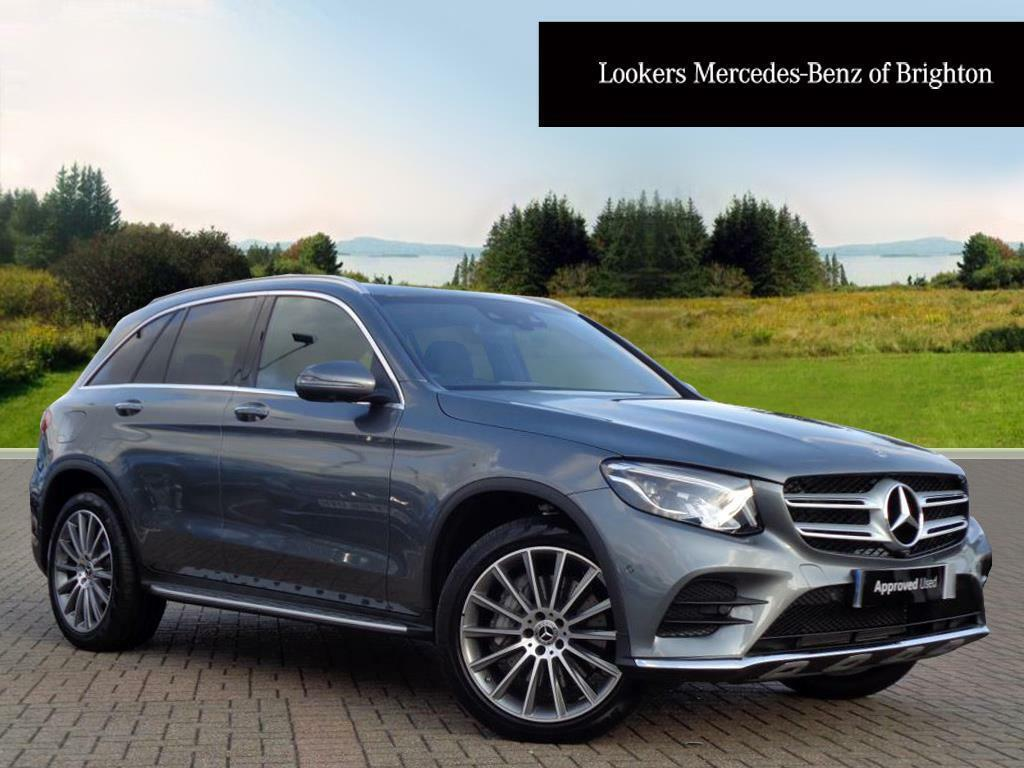 mercedes benz glc class glc 250 d 4matic amg line premium plus grey 2017 09 01 in portslade. Black Bedroom Furniture Sets. Home Design Ideas