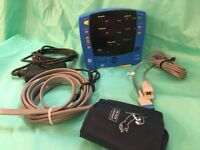 GE Dinamap V100 Carescape Vital Signs Monitor/Vital Signs Monitor/New Battery