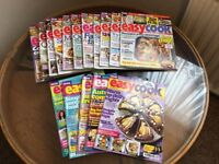 Over 40 issues of BBC Easy Cook monthly magazines