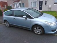 2006 Citroen C4 - 1.6 16V coupe = needs repairs