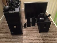 DELL OPTIPLEX 360 PC + ACER 19'' Monitor + Logitech 2.1 Speakers