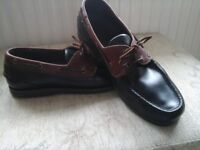 Clarks leather deck/boat shoes size 10