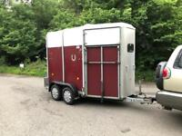Ifor Williams 505 twin horse box with ally floor