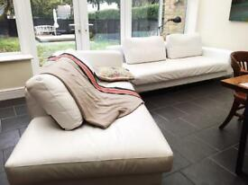 2 piece L shaped sofa