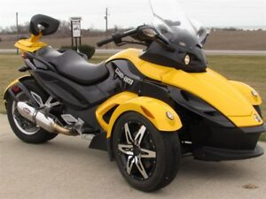 2009 Can-Am Spyder GS Roadster SE5 Semiauto  Easy Automatic and