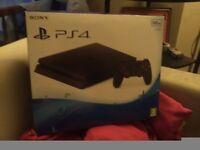 Playstation 4 empty box ps4