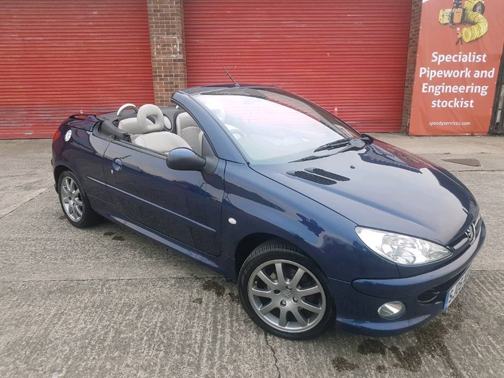 2005 Peugeot 206cc 2.0 - Great Condition Convertible! May swap or px?
