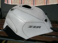 ZZR 1400 GENUINE BAGSTER TANK COVER 2006 - 2020