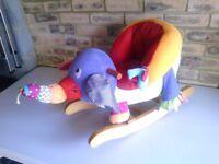 CHILDS ELEPHANT ROCKER