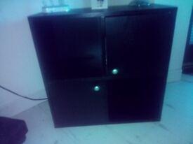 Living room furniture. Black oak.
