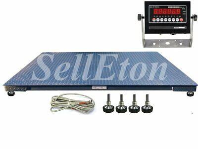 Ntep Industrial 48 X 72 4 X 6 Floor Scale 10000 Lbs X 2 Lb Warehouse