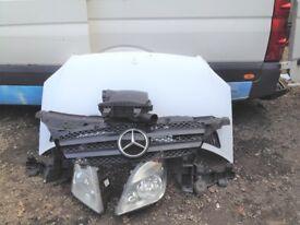 Mercedes Sprinter 2006-2009 Front END slam panel headlights Bonnet Grill