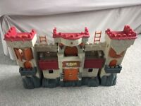 Imaginext Castle, Boulder Catapult, Dragon, Wizard Castle and Accessories