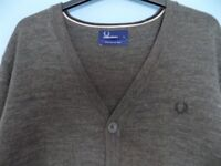 Fred Perry Cardigan - Size Large *brand new without tags*
