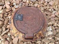 Cast Iron Water Main Cover Diameter 320mm