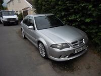 MG ZS 180 2.5 V6 - Low mileage, good condition, new tyres, cambelt replaced fun to drive.