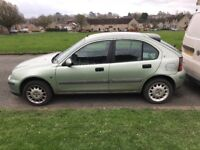 Rover 25 1.6 good condition inside and out mot till October