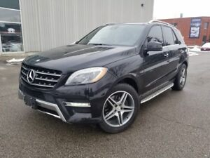 2013 Mercedes Benz M-Class ML350 BlueTEC 4MATIC AMG PACKAGE