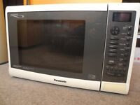 Panasonic Combination Microwave Oven, 10 years old, fully working order, all accessories and manual