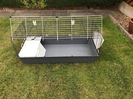 GREAT CONDITION ONLY USED ONCE RABBIT/GUINEA PIG LARGE CAGE