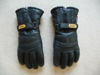 Motor cycle Gloves - Sportex Black . Size 11. Good condition. Reduced to £10