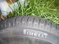 vauxhall corsa steel wheel,c/w excellent as new 165 x 70 x 13 tyre , both v v good condition ,