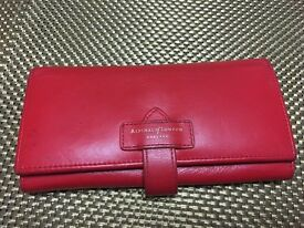 Genuine leather Aspinals of London ladies purse