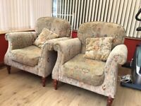 2 fabric living room chairs for sale