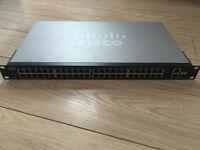 Cisco SG200-50 Gigabit 200 Series Smart Switch SLM2048T V02