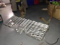 Transit Van Back Step and Towbar in Steel... Very good condition viewing welcome