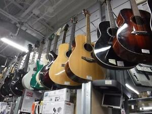 Come get your rock on! Here at Cash Pawn we have a great selection of Electric, Acoustic, and Bass guitars! Visit today!