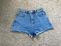 Topshop Mom Shorts Size 8