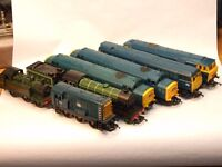 Model Trains. A selection of Triang, Hornby Locos. Price per Loco.