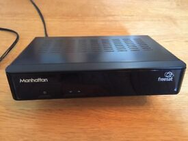 Manhattan Freesat Plaza HD S2 box