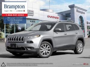 2017 Jeep Cherokee LIMITED FWD | EX CHRYSLER COMPANY DEMO | 8.4